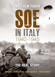Image: Cover of the military history book SOE in Italy.